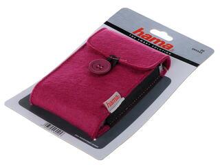 Чехол для внешнего HDD HAMA Felt H-95545 фиолетовый