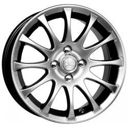 Автомобильный диск Литой K&K Ореол 5,5x13 4/100 ET 38 DIA 67,1 Алмаз черный