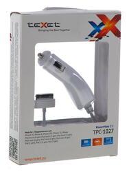 Автомобильное зарядное устройство teXet TPC-1027