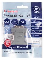 Переходник Belsis DVI-I - SVGA