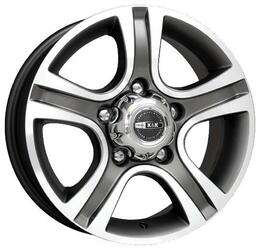 Автомобильный диск  K&K Талисман-Мега 7x16 5/139,7 ET 42 DIA 98 Алмаз черный