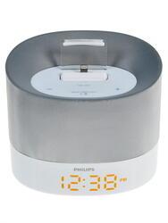 Док станция Philips DS1400/12 белый, серебристый
