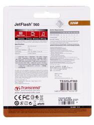 Память USB Flash Transcend JetFlash 560 32 Гб