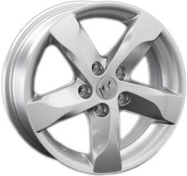 Автомобильный диск литой Replay RN89 6,5x16 5/114,3 ET 45 DIA 60,1 Sil