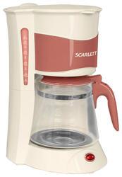 Кофеварка Scarlett SC-1030 бежевый