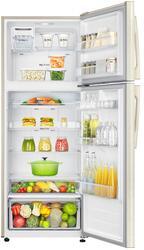 Холодильник с морозильником Samsung RT46H5340EF/WT бежевый