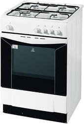 Газовая плита Indesit KNJ6G27(W) белый