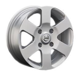 Автомобильный диск Литой Replay NS46 5,5x14 4/114,3 ET 35 DIA 66,1 Sil