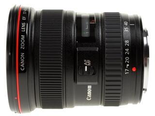 Объектив Canon EF 17-40mm F4.0 L USM