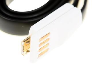 Кабель Solomon USB - micro USB черный