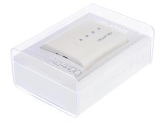 Портативный аккумулятор Qumo PowerAid 4400 белый