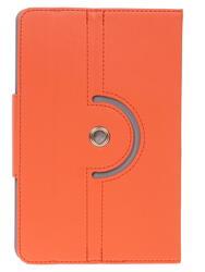 """Чехол-книжка для планшета универсальный 7""""  оранжевый"""