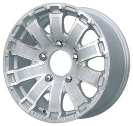 Автомобильный диск литой iFree Тополь 7x16 5/139,7 ET 35 DIA 98 Айс