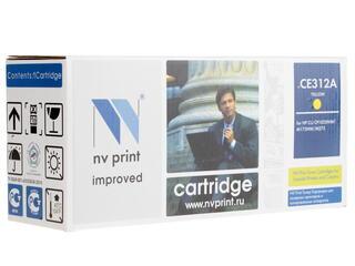 Картридж лазерный NV Print CE312A