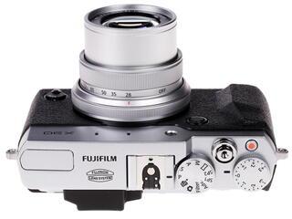 Компактная камера FujiFilm FinePix X30 серебристый