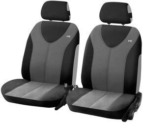 Чехол на сиденье H&R TROPHY FRONT передний, пайнэпл лайт, т.серый/черный