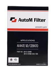 Фильтр воздушный AutoM AAK-150
