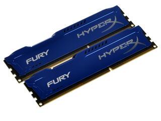 Оперативная память Kingston HyperX FURY Blue Series [HX316C10FK2/8] 8 ГБ