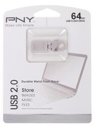 Память USB Flash PNY Micro Hook Attache 64 Гб