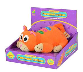 Интерактивная игрушка Learning Journey Убегающий котёнок и бабочка