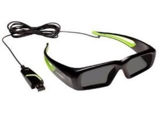 Очки для монитора NVIDIA 3D VISION GLASSES (Дополнительные очки)