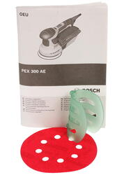 Эксцентриковая шлифмашина Bosch PEX 300 AE