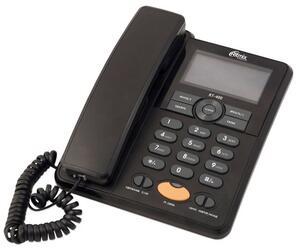 Телефон проводной Ritmix RT-400 черный