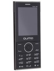 Сотовый телефон QUMO Push 244 Slim черный