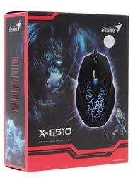Мышь проводная Genius X-G510