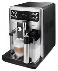 Кофемашина Saeco HD 8855 серебристый, черный