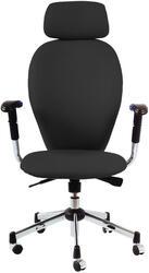 Кресло офисное Бюрократ CH-593ASX черный