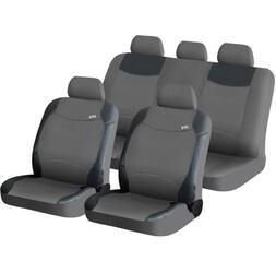 Чехол на сиденье H&R TWEED т.серый