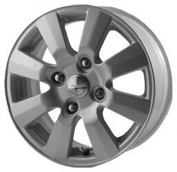 Автомобильный диск Литой Скад Андромеда 6x14 4/108 ET 38 DIA 67,1 Платина