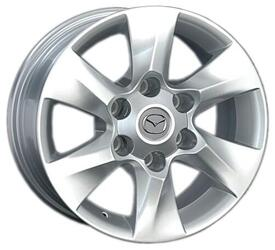 Автомобильный диск литой Replay MZ46 7x16 6/139,7 ET 10 DIA 93,1 Sil