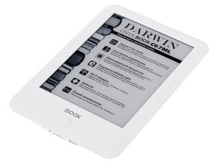 6'' Электронная книга ONYX Boox C67ML Darwin белый + чехол