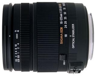 Объектив Sigma AF 18-125 mm F3.5-5.6 DC для Sony