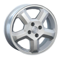 Автомобильный диск литой Replay FT14 6x15 4/98 ET 32 DIA 58,1 Sil