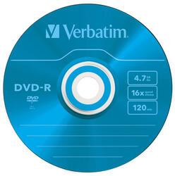 Диск Verbatim DVD-R Colour 4.7Gb