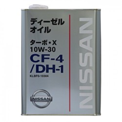 Моторное масло Nissan (Orig.Japan) Turbo X 10W30 KLBF0-10304
