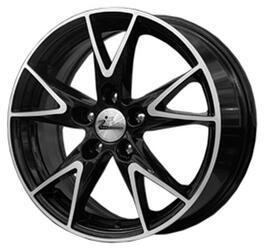 Автомобильный диск литой iFree Нирвана 6,5x15 5/105 ET 35 DIA 56,6 Блэк Джек