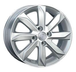 Автомобильный диск литой Replay KI86 6x15 4/100 ET 48 DIA 54,1 Sil