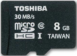 Карта памяти Toshiba microSDHC SD-C008UHS1 8 Гб