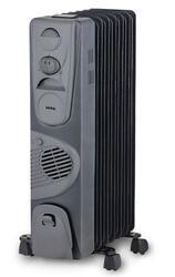 Масляный радиатор Korting KOH515FH-MG черный