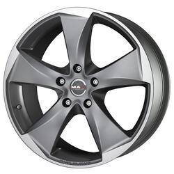 Автомобильный диск Литой MAK Raptor5 8,5x19 5/120 ET 35 DIA 72,6 Graphite Mirror Face