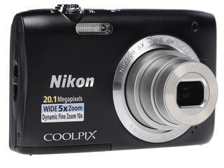 Компактная камера Nikon Coolpix S2900 черный