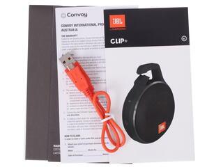 Портативная колонка JBL Clip + черный