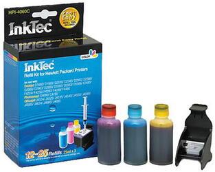 Чернила InkTec для НР CС643/СС654/CС656 color