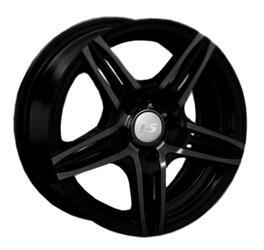 Автомобильный диск литой LS 189 6,5x15 4/100 ET 40 DIA 73,1 BKFRL