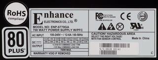 Блок питания Enhance ENP-6770GA [ENP-6770GA]