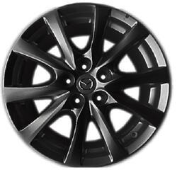 Автомобильный диск литой Replay MZ58 7,5x17 5/114,3 ET 50 DIA 67,1 MB